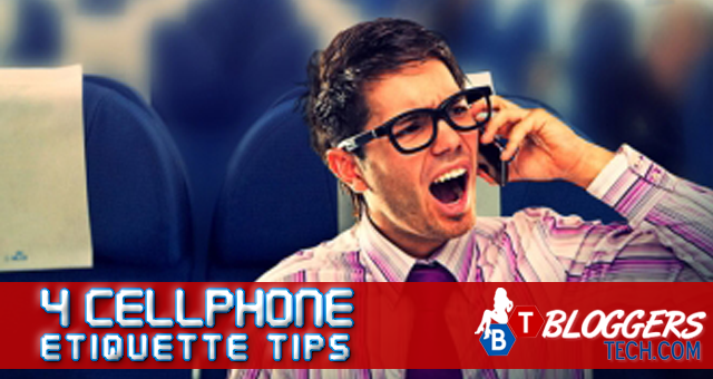 4 Cellphone Etiquette Tips