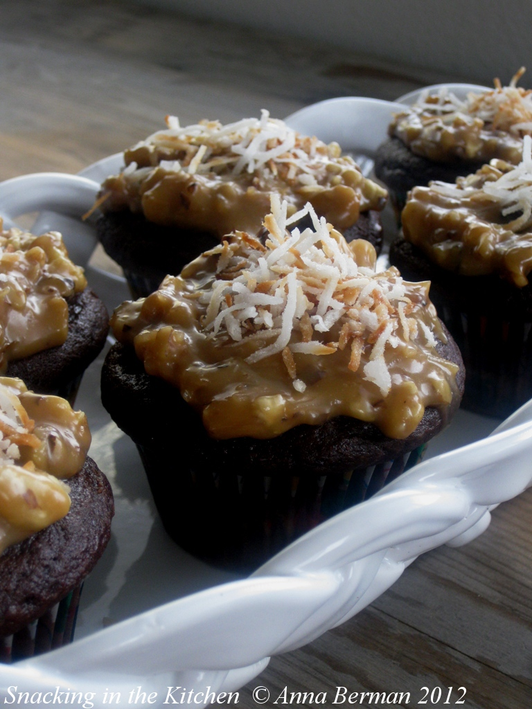 German+Chocolate+Cupcake+Recipe+with+Toasted+Walnuts,+Toasted+Coconut ...