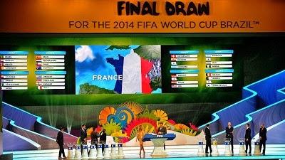 Pengundian Fase Grup Piala Dunia 2014 Brazil