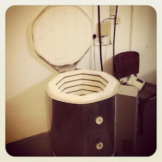O forno de cerâmica!