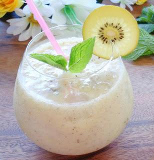 Cách làm sinh tố kiwi thơm mát, đẹp da1