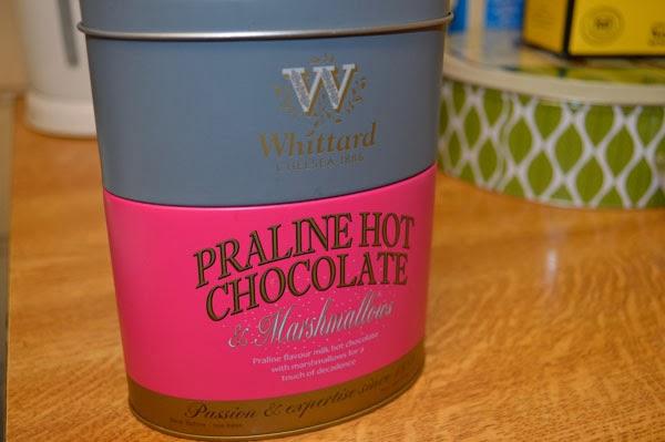 Praline hot chocolate