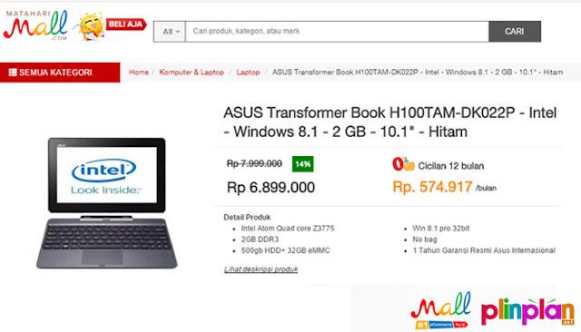 Cuci Gudang Akhir Tahun Siap-siap Belanja Online : Laptop