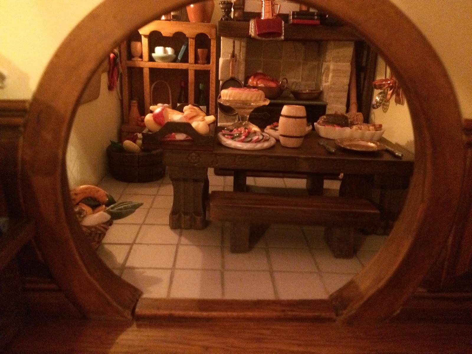 My Hobbit Hole Bag End Kitchen