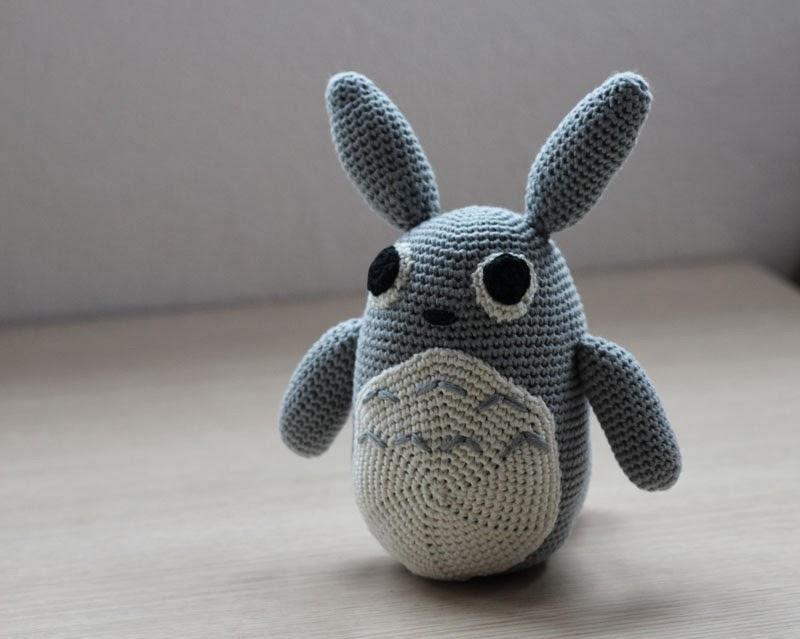 Amigurumi Totoro : Amigurumi de totoro kalulu for