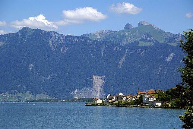 St Gingolph and Lac Léman