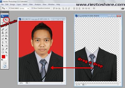 Selanjutnya kita Maximize foto kita agar bisa lebih focus mengedit