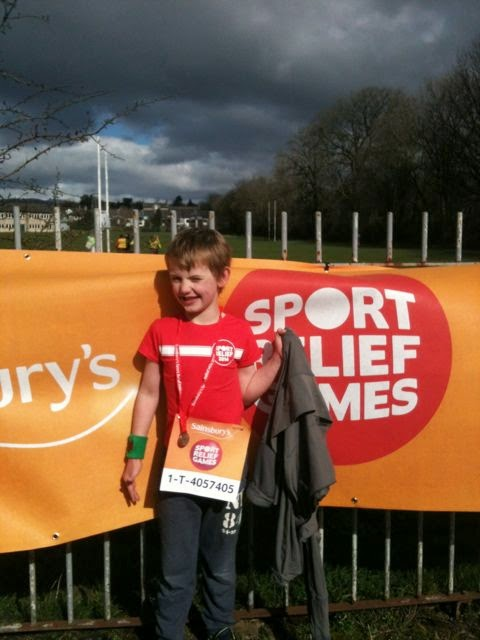 Completed his Sport relief mile