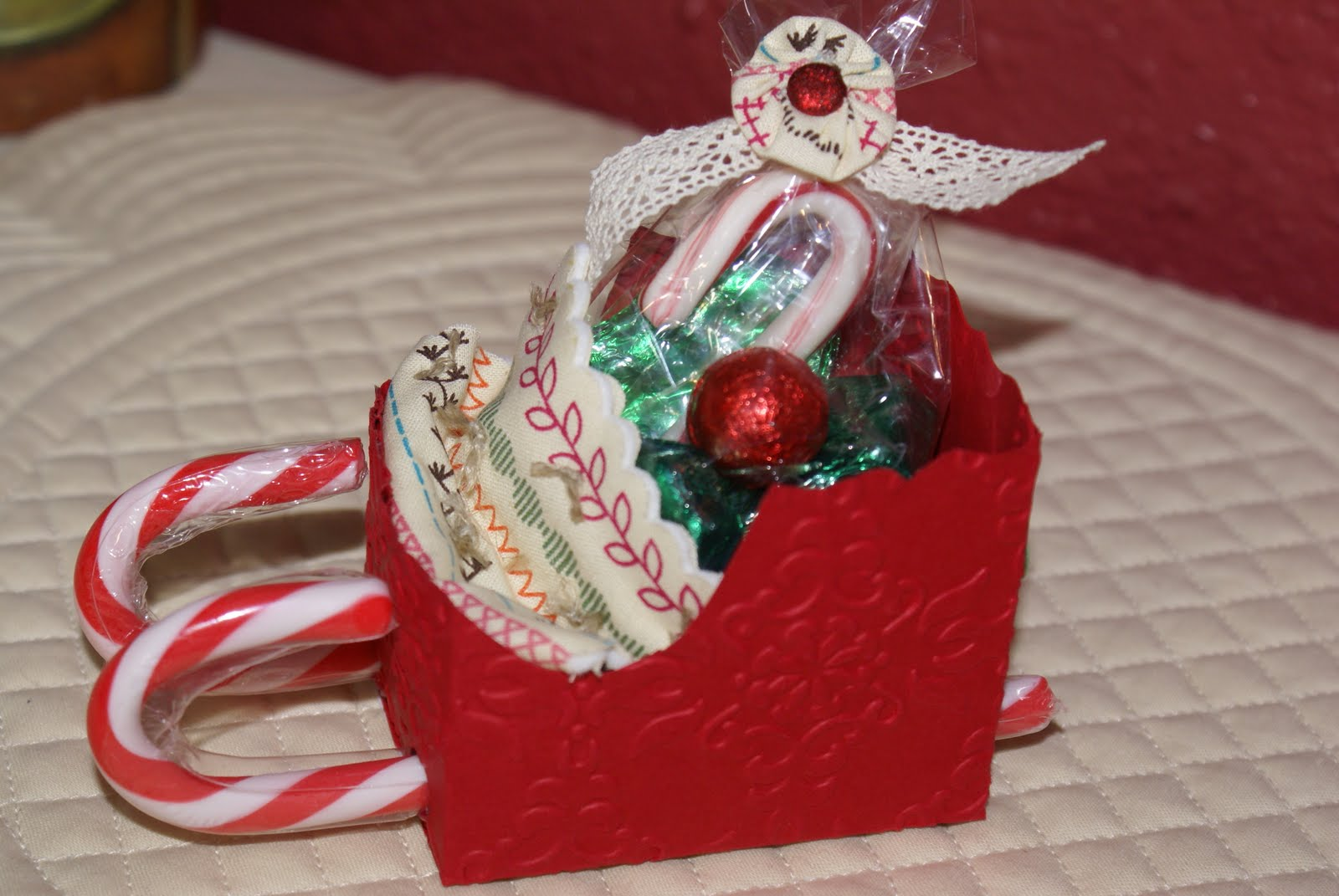 Christmas Sleighs Candy Favors