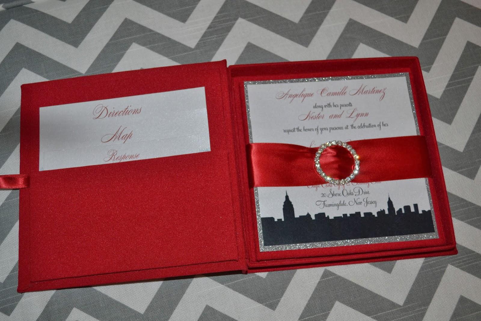 Catherine Scerbo Events: Custom Invitations - New York City Skyline ...