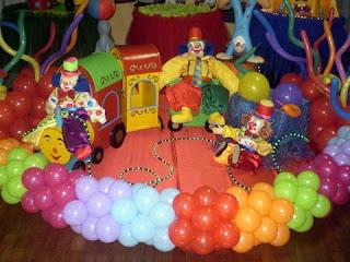 imagens de festa infantil de circo