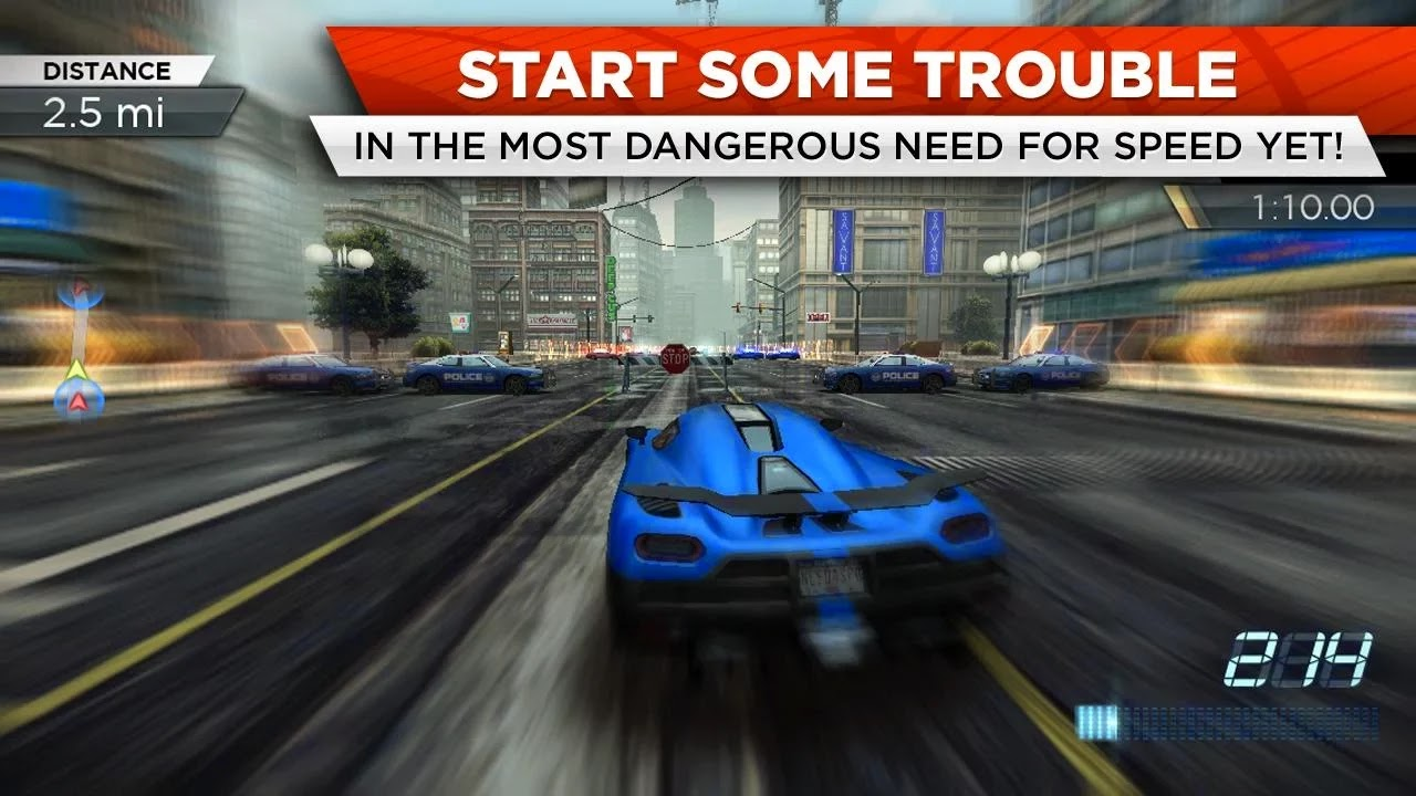 Need for Speed™ Most Wanted v1.0.50 Mega Mod