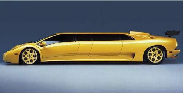 Wonderful Lamborghini Limousines