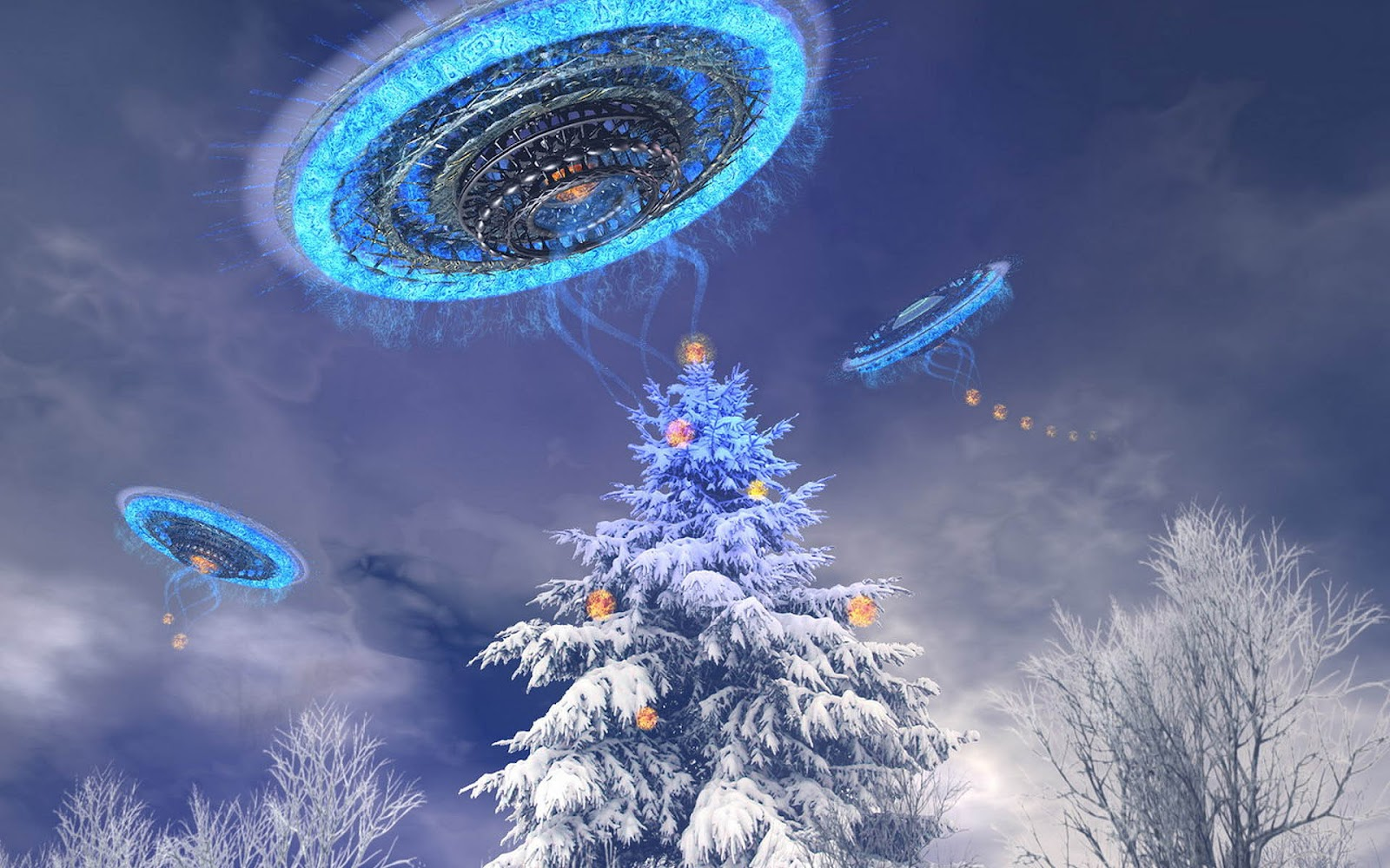 /s1600/hd 3d Ufo Achtergrond In De Winter Hd Wallpaperjpg