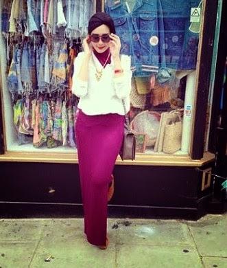 Model Jilbab Terbaru 2014 ala Zaskia Sungkar