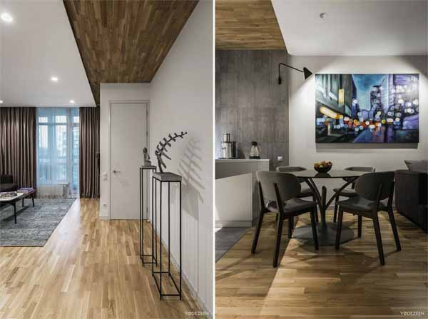 Apartment Interior in Kiev by YoDezeen