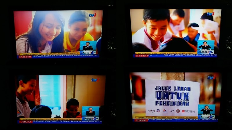 Johan Liga Remaja Kreatif 2014 on TV1