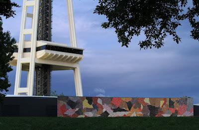 Seattle Center Paul Horiuchi Mural