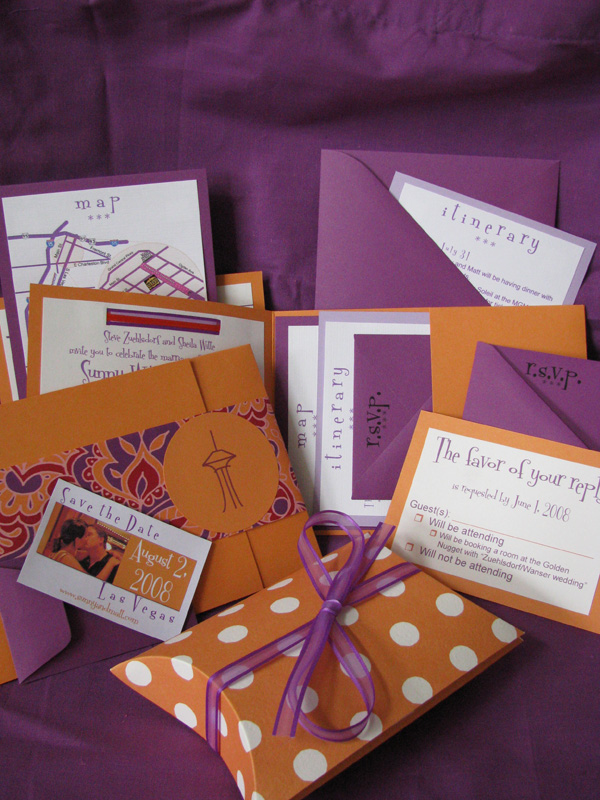 Purple And Orange Wedding Invitations correctly perfect ideas for your invitation layout