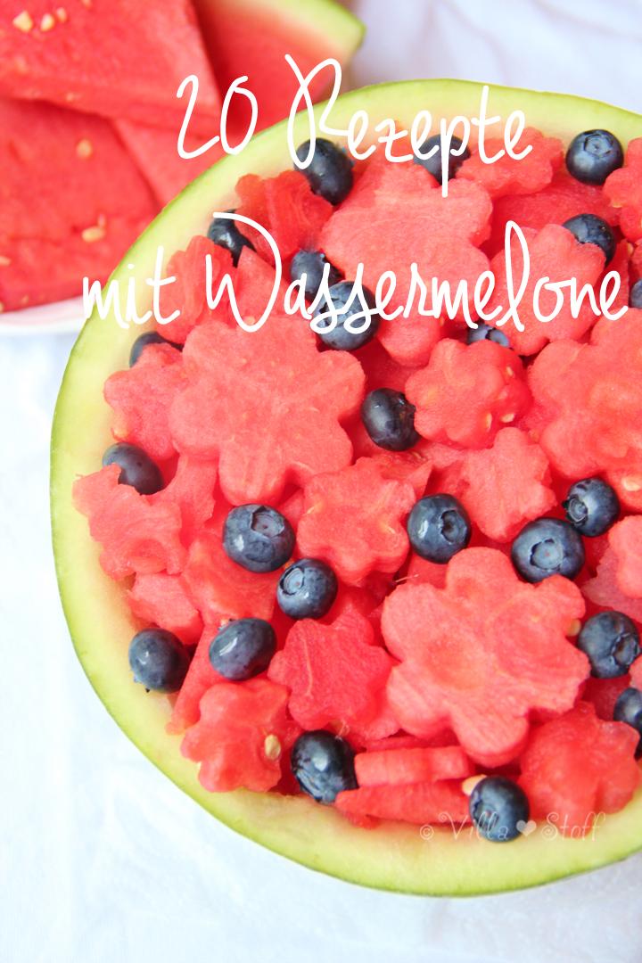 Wassermelonen Obstsalat