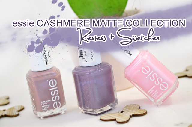 Review + Swatches essie Cashmere Matte Collection