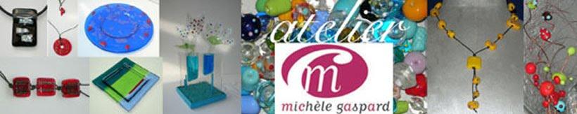 atelier verre Michèle Gaspard