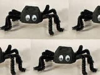 Ideas de Halloween para Reciclar Cajas de Huevos