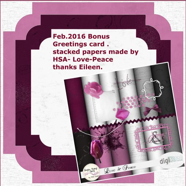 Bonus gift preview Feb. '16 - Greetings card challenge