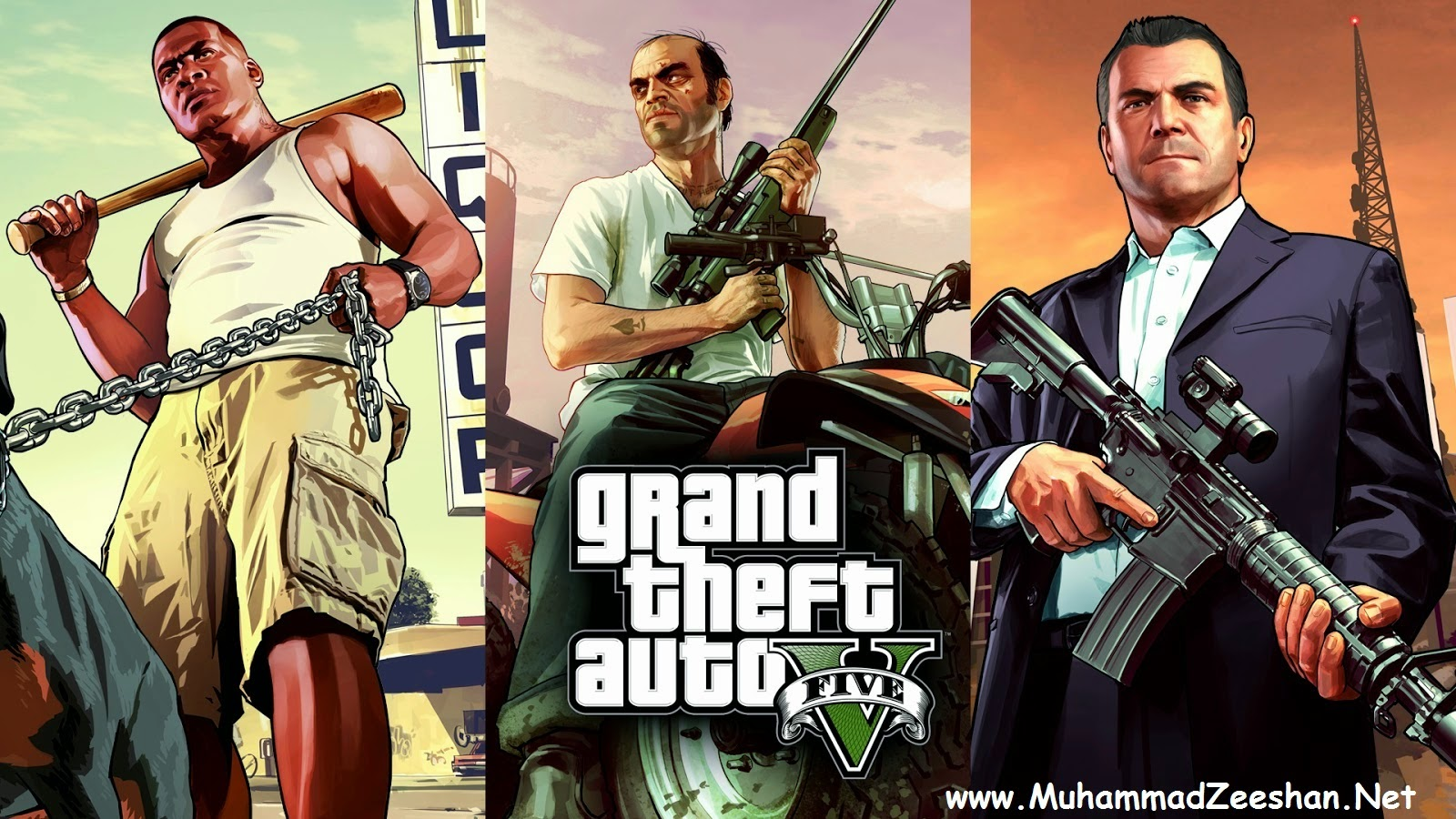 Grand Theft Auto V (GTA 5) PC Game Full Version Free Download Cover Image