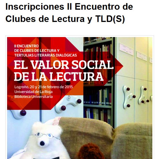 II Encuentro de Clubes de Lectura y TLD(S)
