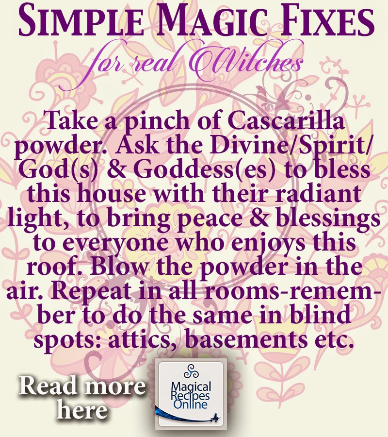 Hoodoo Recipe: Cascarilla Powder - The Hoodoo miracle dust of ...