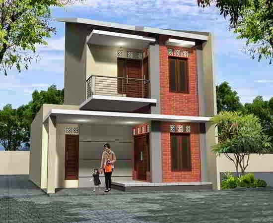Gambar Rumah Tingkat Minimalis