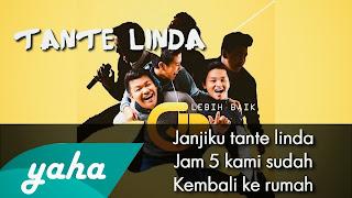 Lirik Lagu - Cowboy Junior - Tante Linda