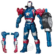 Toy Fair 2013: Official Iron Assemblers Figure Images (hasbro iron man iron assemblers iron patriot figure)