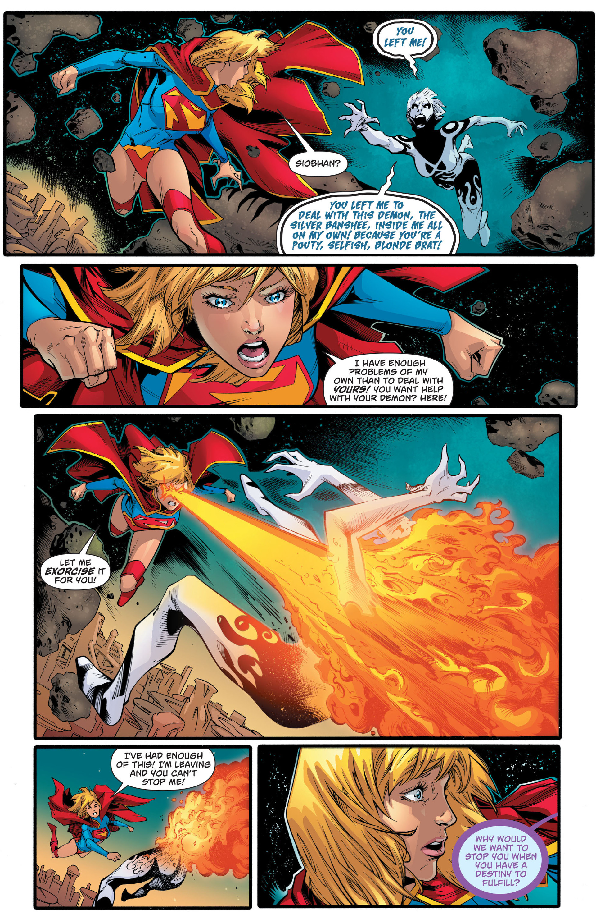 Supergirl (2011) Issue #23 #25 - English 5