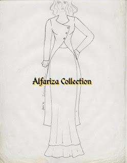 Model blus cardigan
