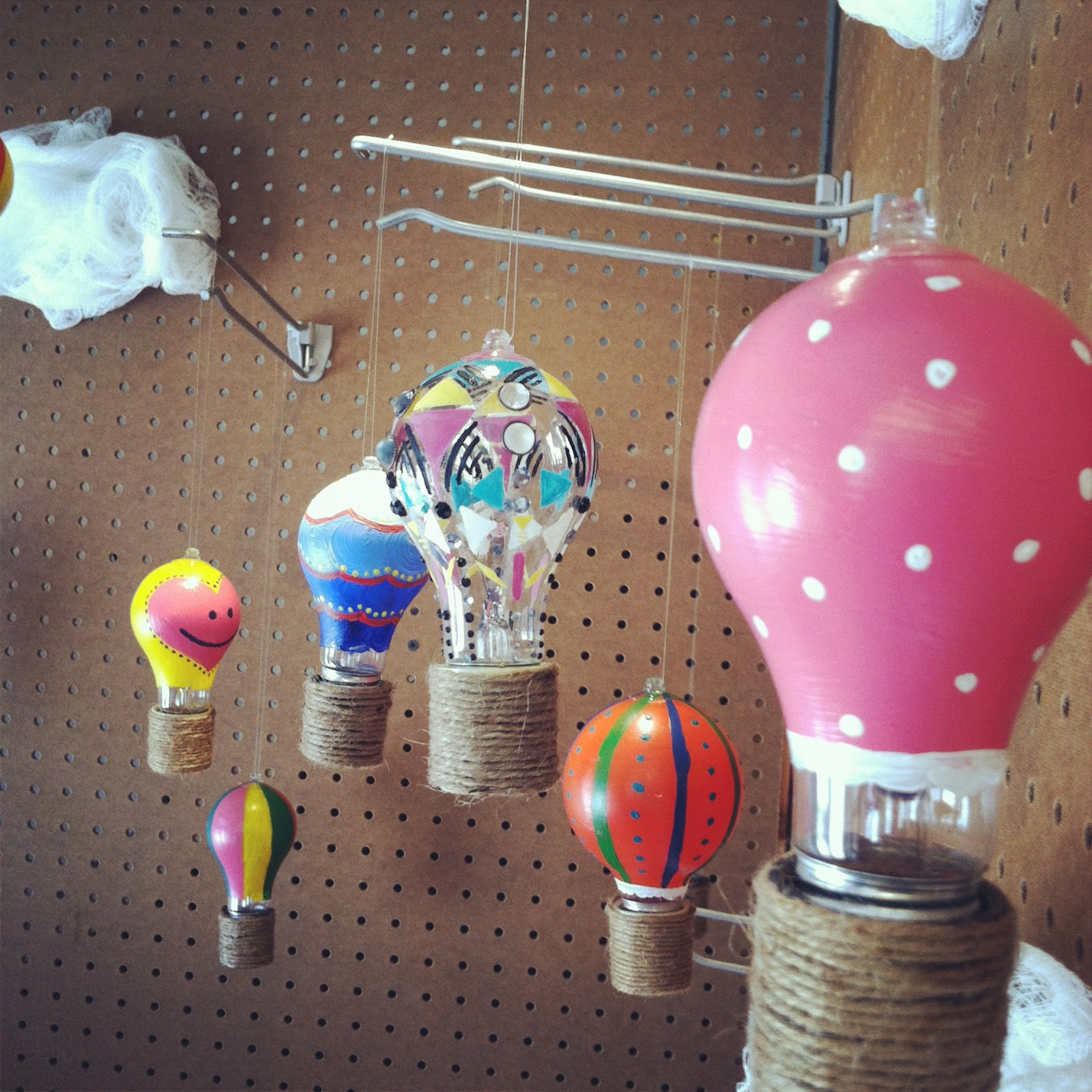 One wall at a time pinterest challenge 3 light bulb hot for Light bulb diy projects