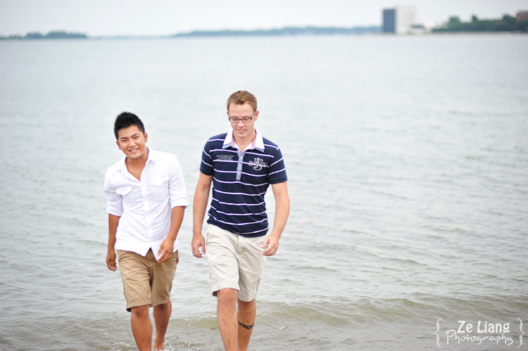 same-sex engagement session castle island boston ben&justin 16