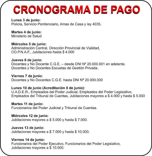 Www Cronograma De Pago De Entre Rios Junio 2016 ...
