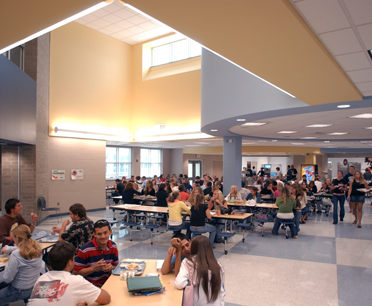 a high school cafeterias complicated dynamic