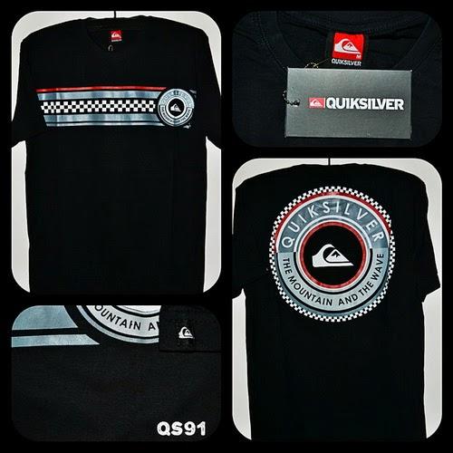 Kaos Surfing QUIKSILVER Kode QS91