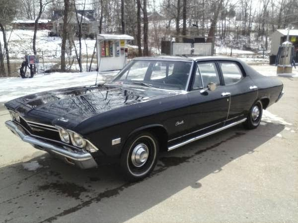 1968 Chevrolet Chevelle Malibu 4 Door Sedan Buy American