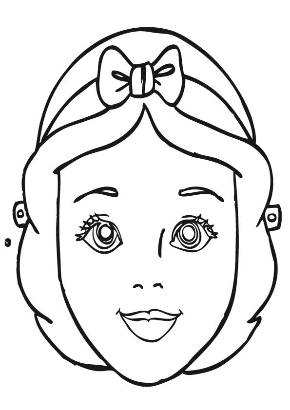 mascara de blancanieves