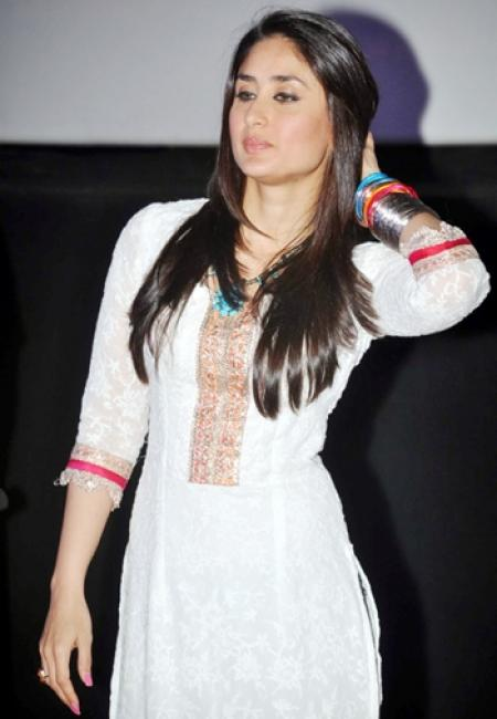 Indian Hairstyles - Kareena Kapoor Hairstyles