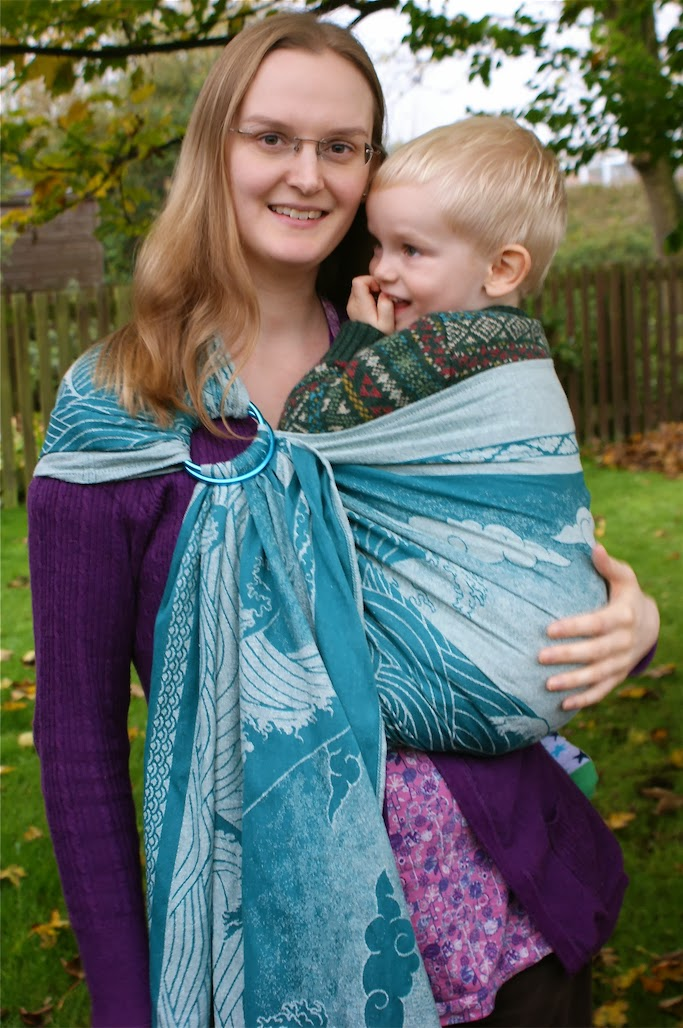 Slinging Joey Review Oscha Okinami Sia Ring Sling