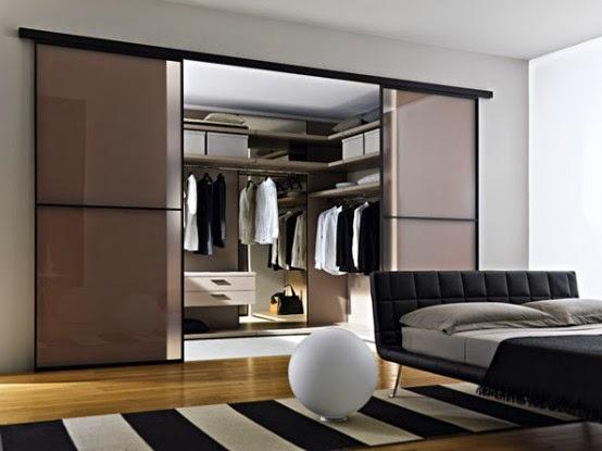 Walk-In Closet di Kamar Anda | Desain Rumah Minimalis