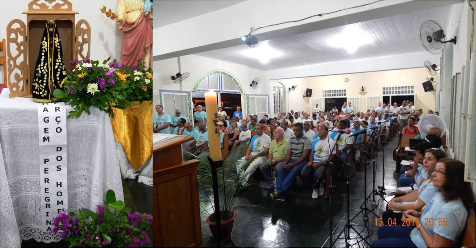 TERÇO DOS HOMENS DA FORANIA II REALIZA ENCONTRO INTER PAROQUIAL PARA REZAR O TERÇO MARIANO