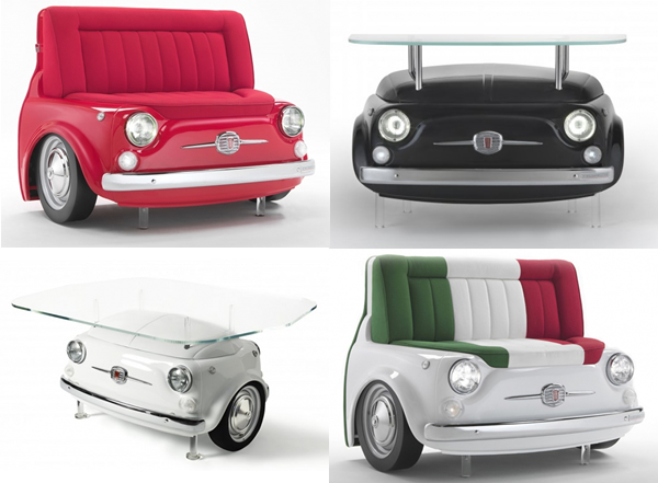 Fiat 500 Furniture Collection