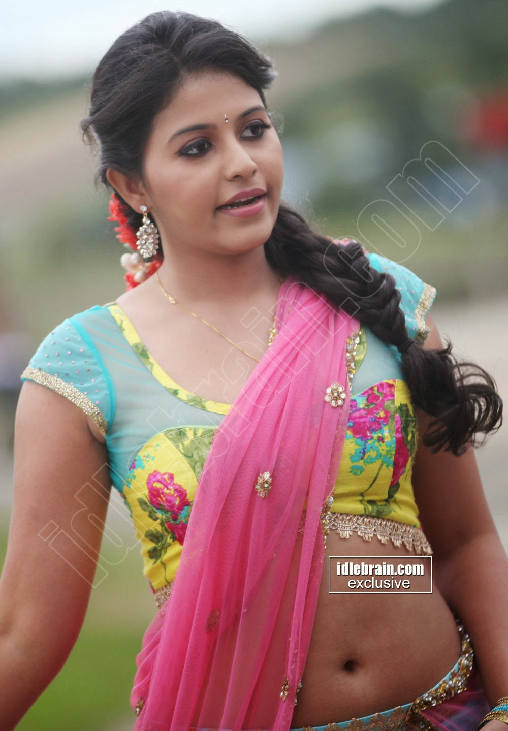 Anjali navel hot