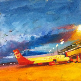 Leaving Soon by Liza Hirst